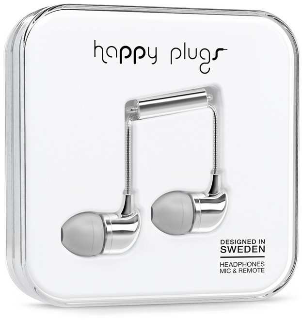 Happy Plugs In-Ear - silver
